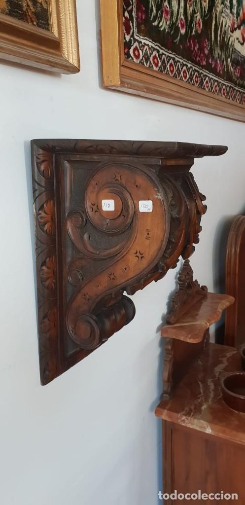 Antigüedades: MÉNSULA TALLADA - Foto 5 - 119935259