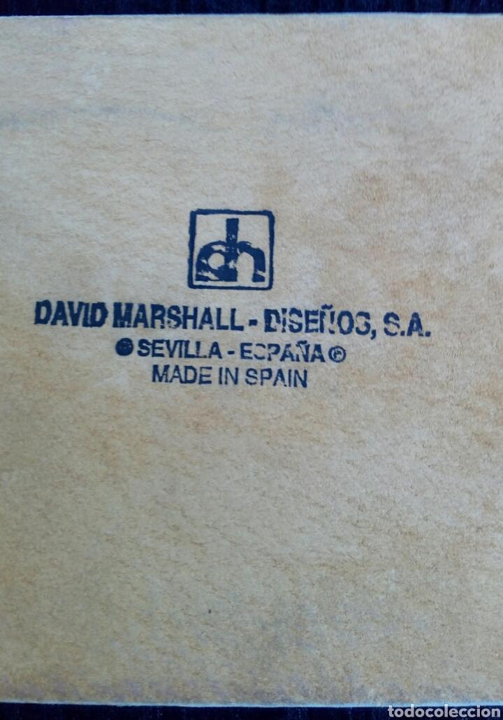 Antigüedades: Bandeja. Pisapapeles de despacho. Del diseñador David Marshall. Bronce y aluminio. - Foto 6 - 177487164