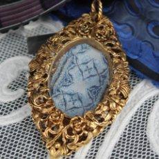 Antigüedades: RELICARIO DE METAL. Lote 177488970
