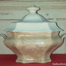 Antigüedades: SOPERA DE LOZA. Lote 177489114