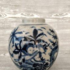 Antigüedades: JARRÓN DE PORCELANA, ANTIGÜEDADES .. Lote 177490360