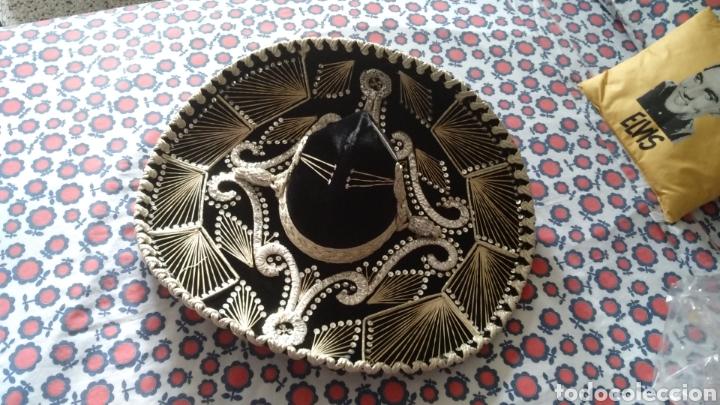 SOMBRERO DE CHARRO MEXICANO ORIGINAL PIGALLE (Antigüedades - Moda - Sombreros Antiguos)
