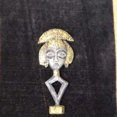 Antigüedades: KOTA RELIQUARY FIGURE, GABON FIGURA ÚNICA!. Lote 177491914