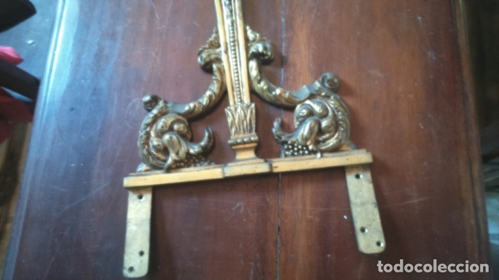 Antigüedades: Bonito aplique modernista en bronce. Lámpara - Foto 3 - 177494800