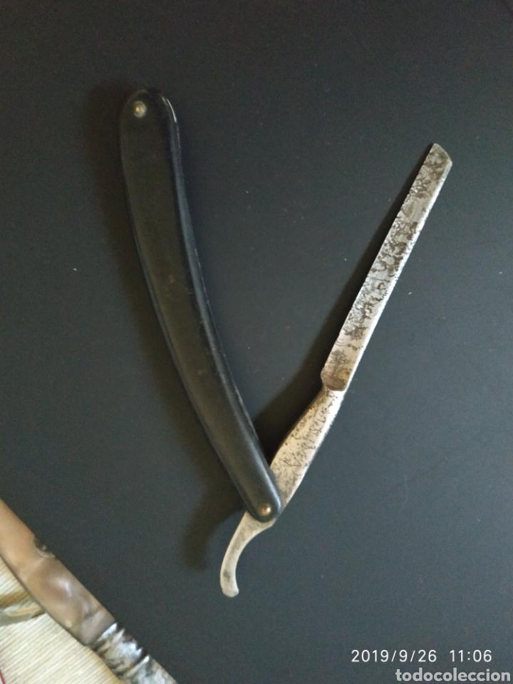 Antigüedades: Navaja de afeitar DUMA solingen - Foto 2 - 177498220