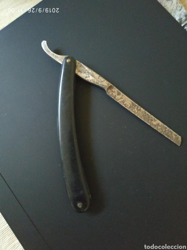 NAVAJA DE AFEITAR DUMA SOLINGEN (Antigüedades - Técnicas - Rústicas - Caza)
