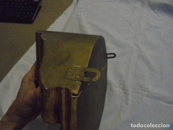 Antigüedades: ANTIGUA MENSULA MADERA SOBREDORADA ESQUINA VER FOTOS Y LEER - Foto 7 - 177502727