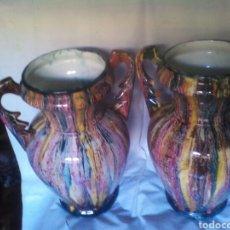 Antigüedades: PAREJA DE JARRONES. Lote 177513739