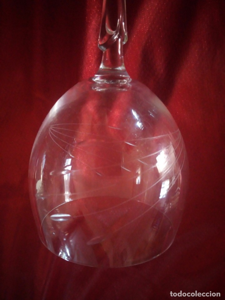 Antigüedades: copas, cristalería bohemia república checa 45 piezas - Foto 5 - 177516387