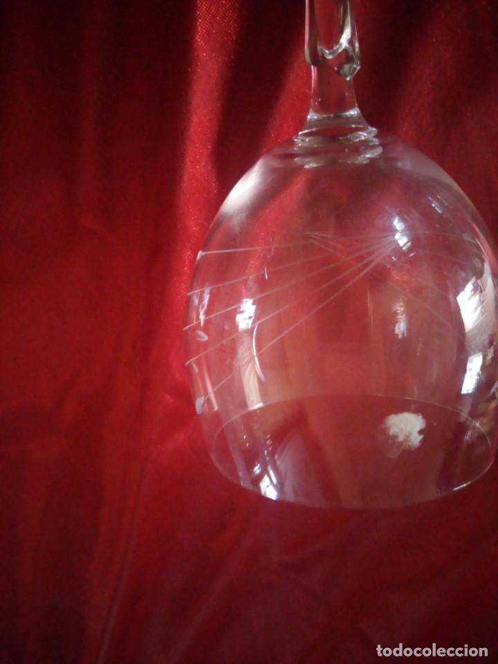 Antigüedades: copas, cristalería bohemia república checa 45 piezas - Foto 7 - 177516387