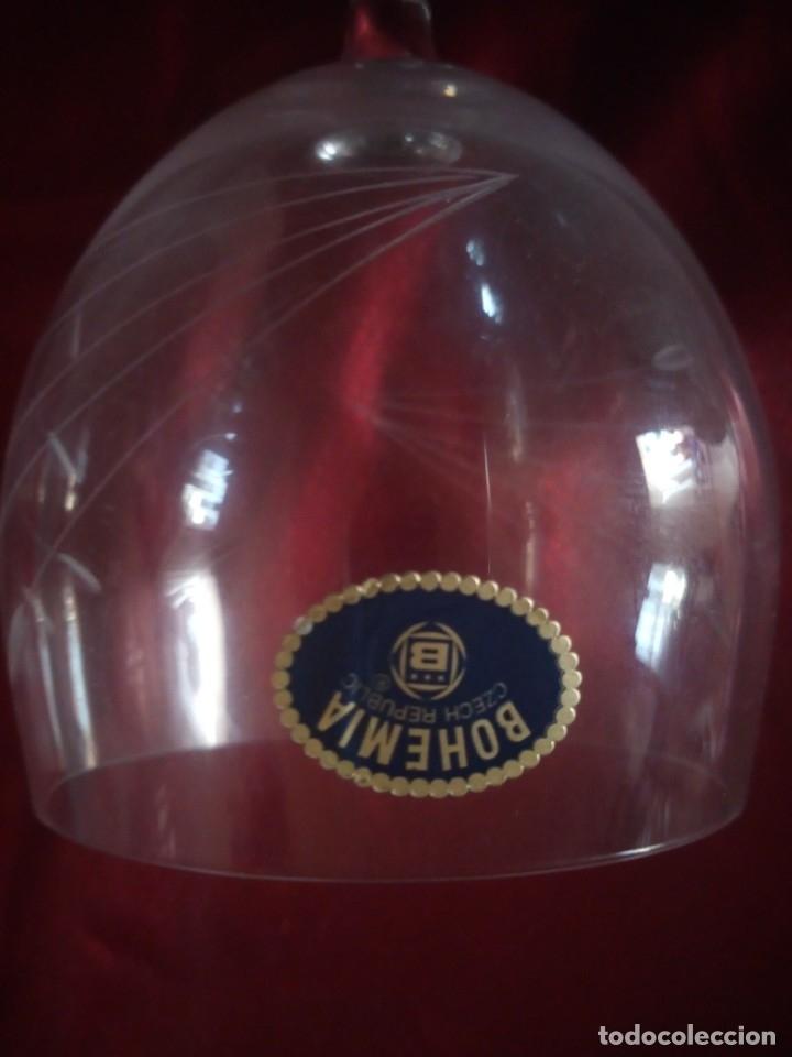 Antigüedades: copas, cristalería bohemia república checa 45 piezas - Foto 10 - 177516387