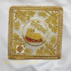 Antigüedades: PALIA BORDADO A MANO 15CM. Lote 175327713