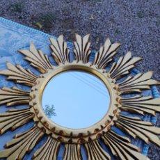 Antigüedades: ESPEJO SOL. Lote 177522610