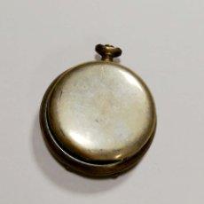 Antigüedades: CAJA DE RELOJ DE PLATA. 35 GRAMOS. VER FOTOS.. Lote 177554298
