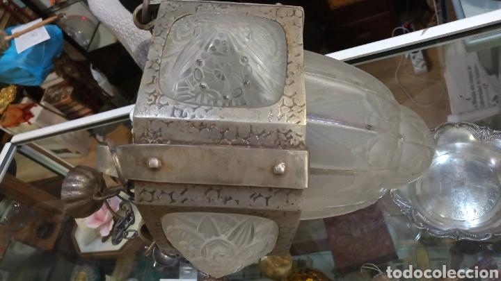 Antigüedades: Lámpara Art Decó - Foto 4 - 177566818