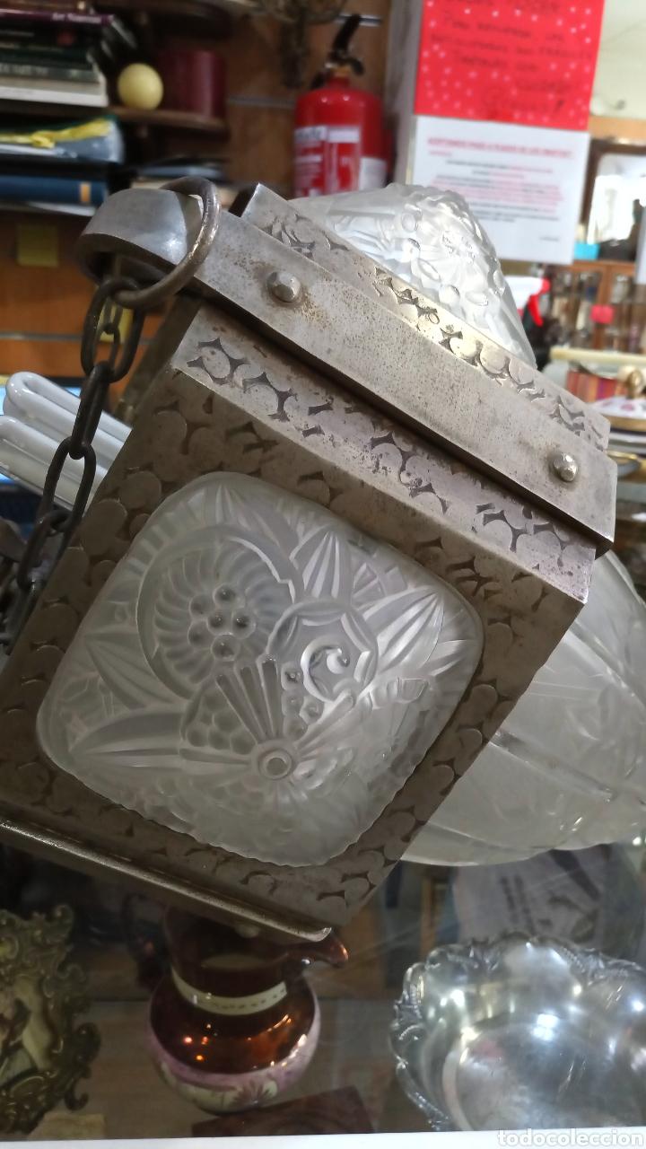 Antigüedades: Lámpara Art Decó - Foto 5 - 177566818