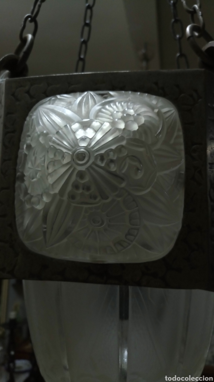Antigüedades: Lámpara Art Decó - Foto 7 - 177566818