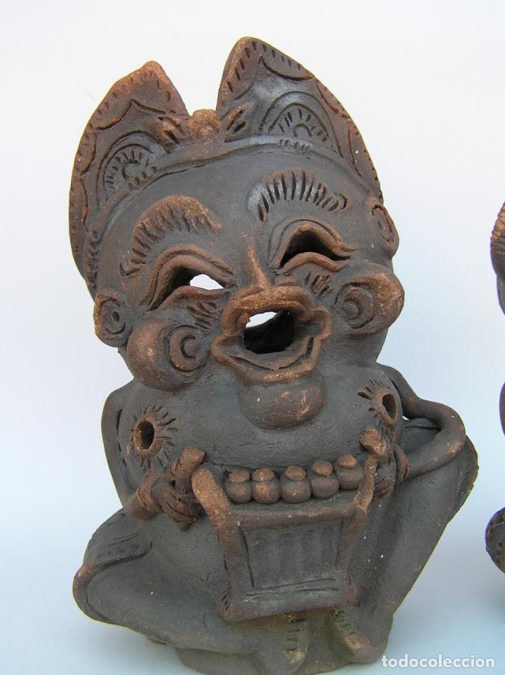 Antigüedades: FIGURAS DE TERRACOTA ANTIGUAS . BALI. - Foto 3 - 177569464