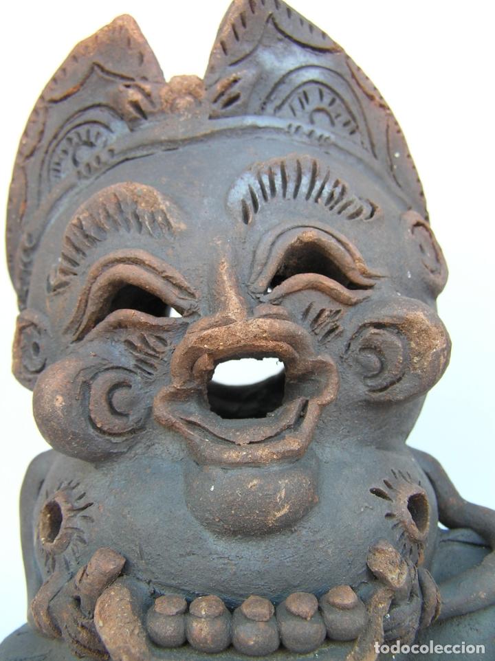 Antigüedades: FIGURAS DE TERRACOTA ANTIGUAS . BALI. - Foto 4 - 177569464
