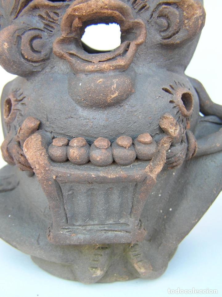 Antigüedades: FIGURAS DE TERRACOTA ANTIGUAS . BALI. - Foto 6 - 177569464