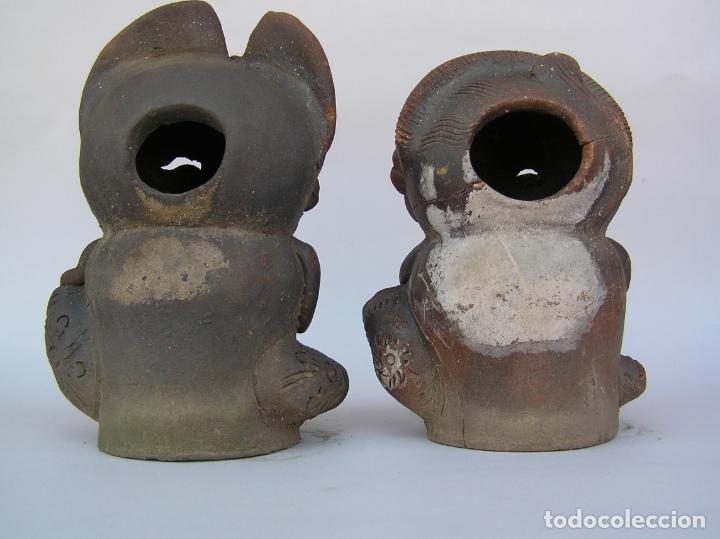 Antigüedades: FIGURAS DE TERRACOTA ANTIGUAS . BALI. - Foto 14 - 177569464