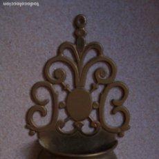 Antigüedades: BENDITERA DE LATÓN 11 X 20 CMS.. Lote 177571658