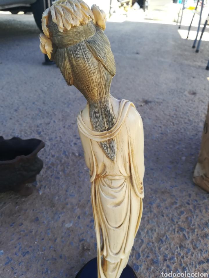 Antigüedades: Figura china antigua - Foto 2 - 177573278
