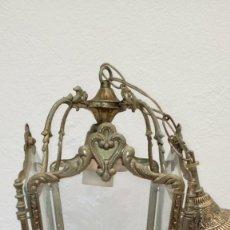 Antigüedades: FAROL DE PATIO. Lote 177596037