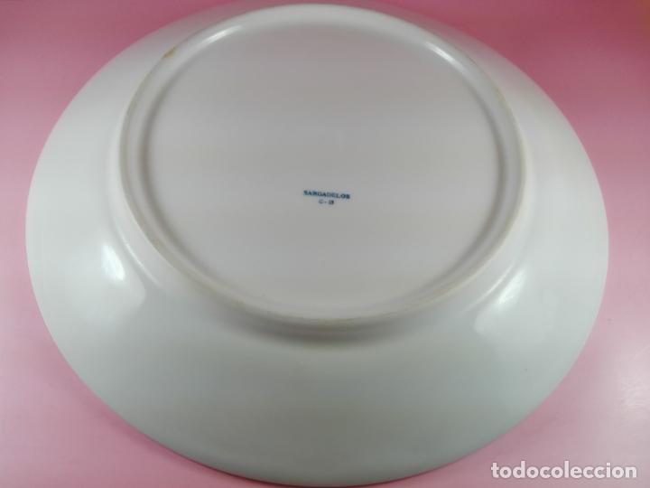 Antigüedades: plato-sargadelos-24 cms-buen estado-coleccionistas-ver fotos - Foto 3 - 177608438