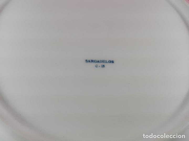 Antigüedades: plato-sargadelos-24 cms-buen estado-coleccionistas-ver fotos - Foto 4 - 177608438