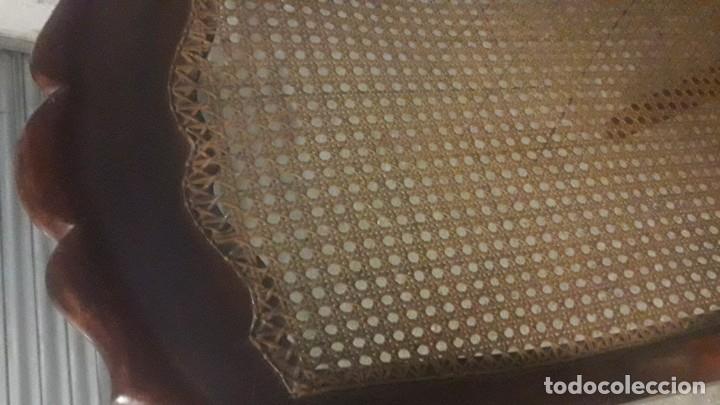 Antigüedades: Mecedora balancin caoba - Foto 8 - 177618650