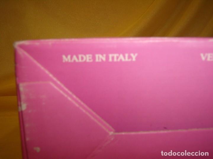 Antigüedades: Centro de cristal frutero fabricado en Italia, años 70, Nuevo en su caja original. - Foto 10 - 177642857