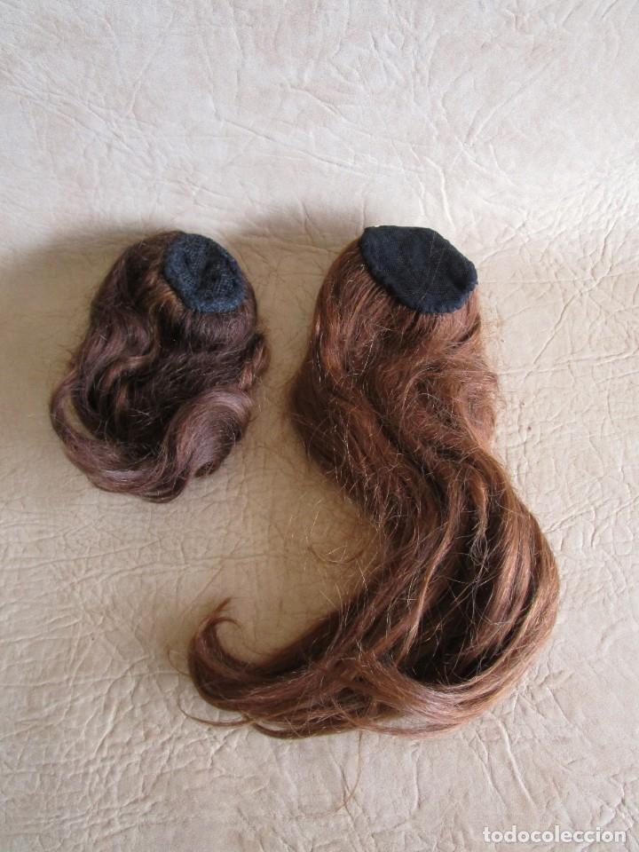 Antigüedades: lote de 2 extensiones de pelo natural - Foto 4 - 177648620