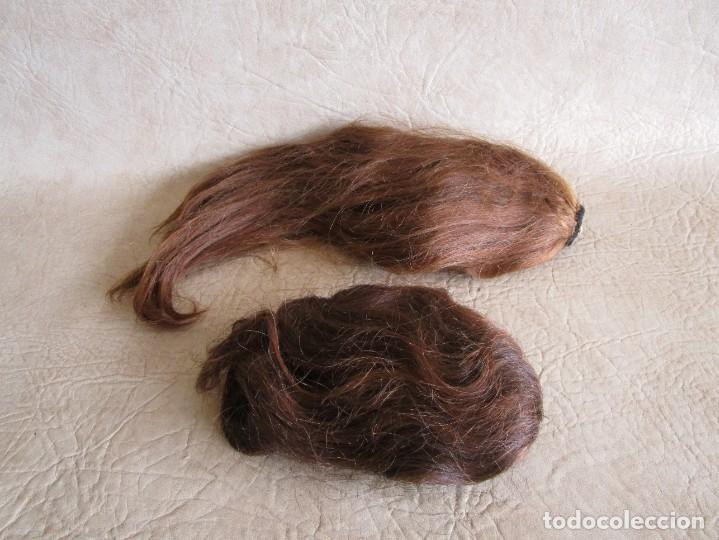 Antigüedades: lote de 2 extensiones de pelo natural - Foto 6 - 177648620