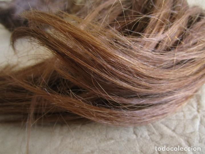 Antigüedades: lote de 2 extensiones de pelo natural - Foto 8 - 177648620