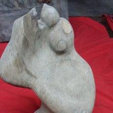 Antigüedades: TALLA MADERA BUSTO FEMENINO, AUTOR DESCONOCIDO. Lote 177655838