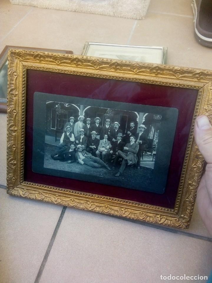 Antigüedades: Lote 3 portafotos - Foto 2 - 177657947