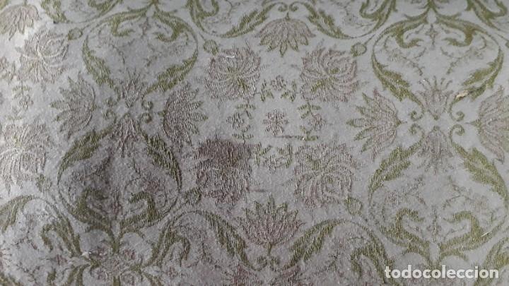 Antigüedades: Sofá antiguo estilo Luis XV ORIGINAL. Tresillo canapé antiguo estilo Luis XV pan de oro ORIGINAL. - Foto 12 - 177673973