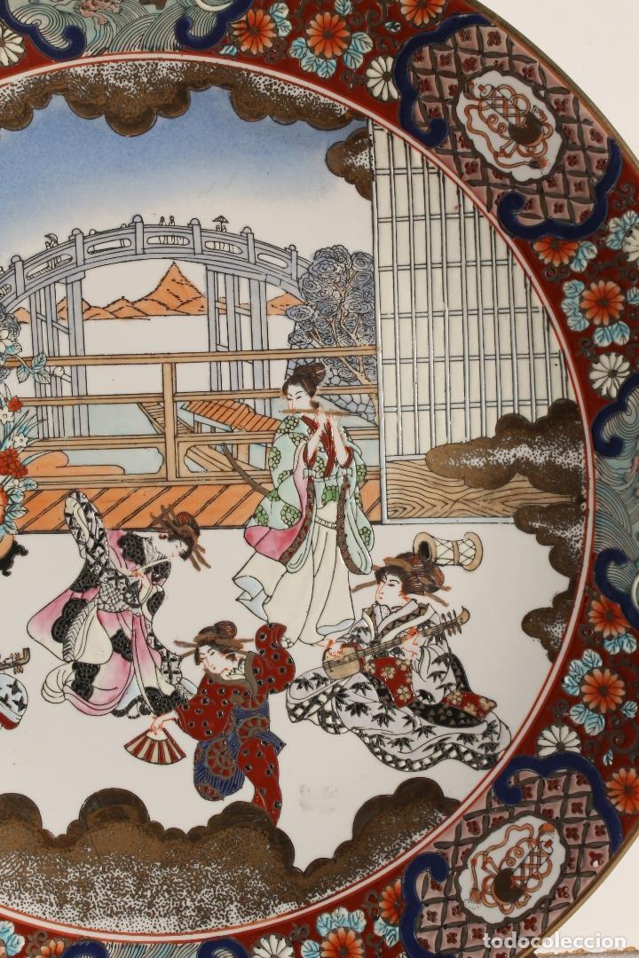 Antigüedades: PLATO DE PORCELANA CHINA TONGZHI - Foto 3 - 177738124