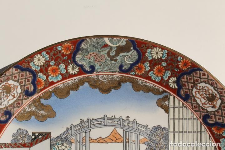 Antigüedades: PLATO DE PORCELANA CHINA TONGZHI - Foto 4 - 177738124