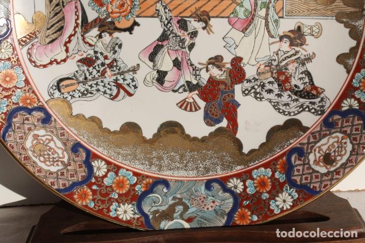 Antigüedades: PLATO DE PORCELANA CHINA TONGZHI - Foto 5 - 177738124