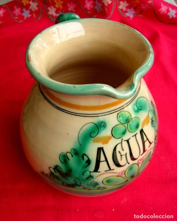 JARRA DE CERÁMICA DE TOLEDO CON ASA (Antigüedades - Porcelanas y Cerámicas - Puente del Arzobispo )