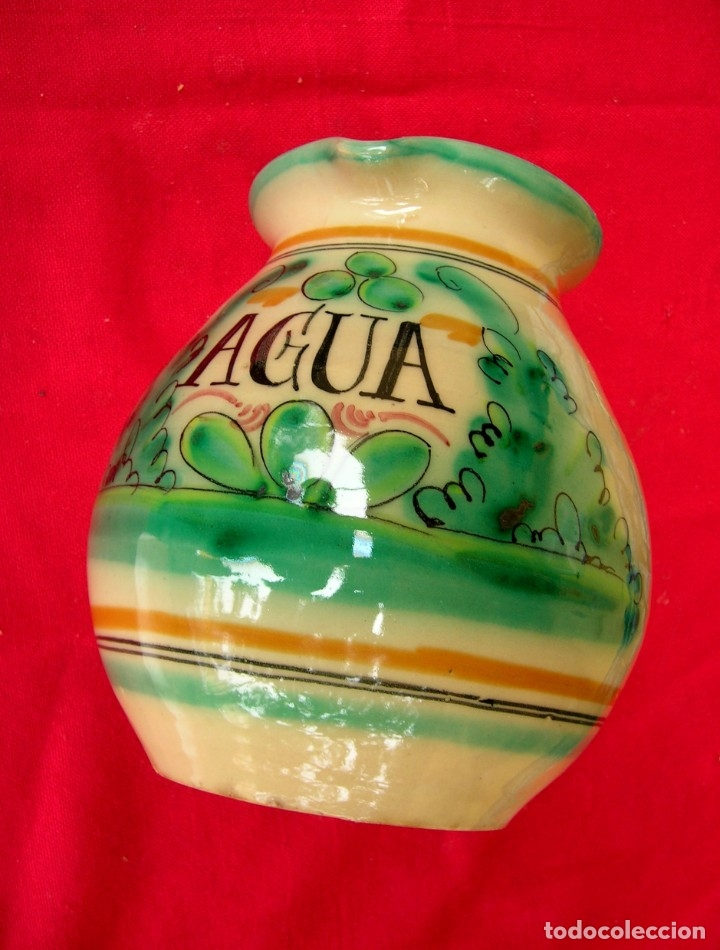 Antigüedades: Jarra de cerámica de Toledo con asa - Foto 2 - 177743398