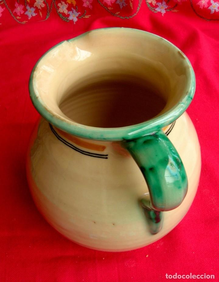 Antigüedades: Jarra de cerámica de Toledo con asa - Foto 3 - 177743398