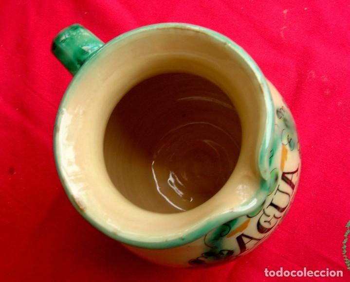 Antigüedades: Jarra de cerámica de Toledo con asa - Foto 4 - 177743398