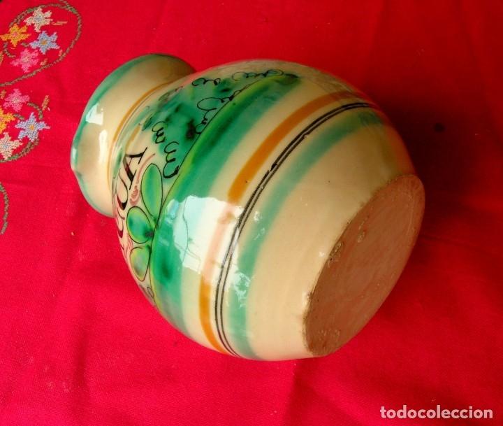 Antigüedades: Jarra de cerámica de Toledo con asa - Foto 5 - 177743398