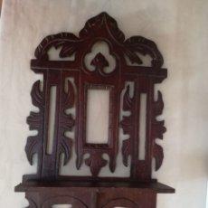 Antigüedades: PORTAFOTOS ESTILO MODERNISTA, CON REPISA.. Lote 177747008