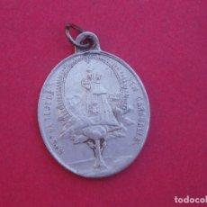 Antigüedades: MEDALLA SIGLO XIX VIRGEN DE TEJEDA. GARABALLA. CRISTO DE LA CAÍDA VILLA DE MOYA. CUENCA. . Lote 177748327