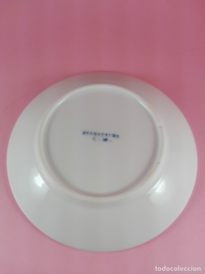 Antigüedades: plato-sargadelos-diseño-buen estado-ver fotos - Foto 5 - 177756823