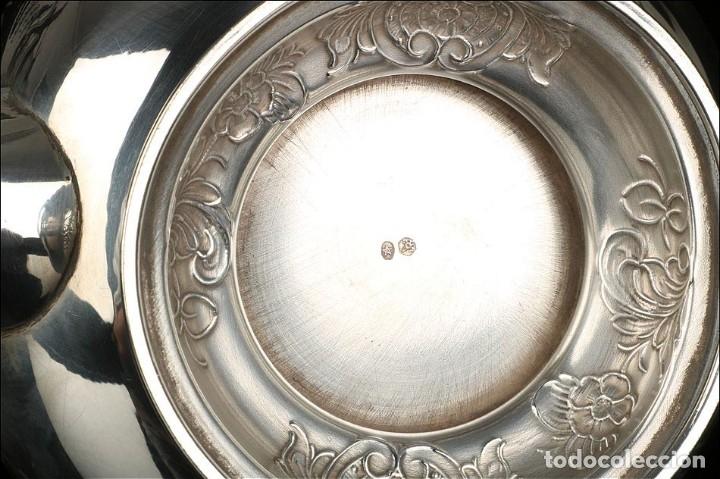 Antigüedades: Extraordinario Juego de Café Antiguo en Plata Maciza. 7,8 kilos. España, Principios Siglo XX - Foto 71 - 177785830